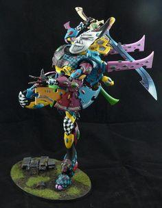 Warhammer 40k - Eldar Wraithknight Harlequin