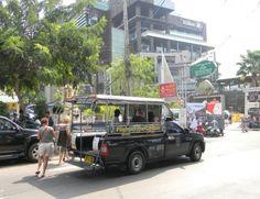Tuk-Tuk in the Pattaya, Thailand