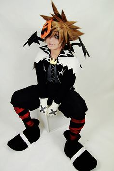 Kingdom Hearts Sora Halloween Town Costume.17 Best Halloween Town Sora Cosplay References Images In 2015