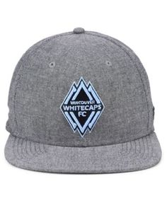 newest bf6e3 d4792 Authentic Mls Headwear Vancouver Whitecaps Fc Chambray Snapback Cap - Gray  Adjustable