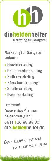 """Täglich aktuelle Tipps auf Facebook zum Thema """"Marketing für Gastgeber"""": Werde Fan unter http://facebook.com/dieHeldenhelfer"""