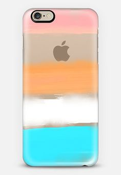 Large Watercolor Stripes 1 iPhone 6 case by Jande La'ulu | Casetify