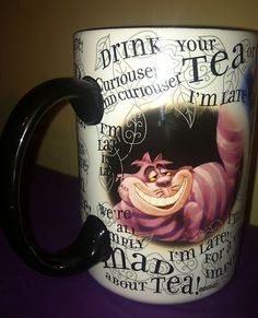 Alice in Wonderland Ceramic Coffee Mug | eBay