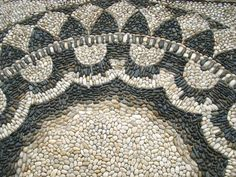 Pebble mosaic @ the Vanderbilt Museum, Centerport, Long Island, New York.