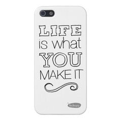 Life is what you make it - iPhone Case