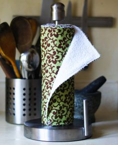 Very nice!  ~  Eco Friendly Reusable Snapping UnPaper Towels  by OmeesBoutique, $27.00