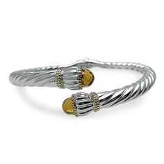 Springer's Jewelers | Maine & New Hampshire Jewelry Stores | Twisted Citrine Bangle Bracelet