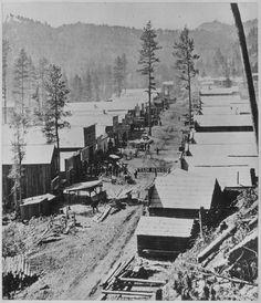 2. Hillside view of Deadwood, SD, 1876