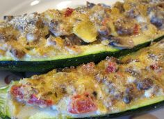 Now Things are Cookin': Stuffed Zucchini - Recipe