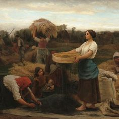Jules-Adolphe Breton The Colza (Harvesting Rapeseed) - The Largest Art reproductions Center In Our website. Low Wholesale Prices Great Pricing Quality Hand paintings for saleJules-Adolphe Breton National Gallery Of Art, Vintage Wall Art, Vintage Walls, Jules Breton, Oil On Canvas, Canvas Prints, Classic Image, Heritage Image, Art Reproductions