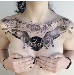 this chest piece is just beautiful