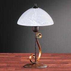 Landhaus-Tischleuchte in Rostfarben Jetzt bestellen unter: https://moebel.ladendirekt.de/lampen/tischleuchten/beistelltischlampen/?uid=bee9f15c-7202-5e46-afb3-75abc24e9c58&utm_source=pinterest&utm_medium=pin&utm_campaign=boards #lampen #tischleuchten #tischlampen #beistelltischlampen