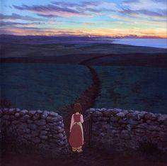 From the newest Ghibli movie Ged Senki or Gedo Senki (Tales from Earthsea), directed by Hayao Miyazaki`s son, Goro Miyazaki. Hayao Miyazaki, Tales From Earthsea, Isao Takahata, Doraemon Cartoon, Studio Ghibli Movies, Film Studio, Totoro, Les Oeuvres, Cool Art