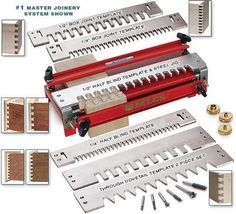 "MLCS MASTER Joinery Complete Dovetail Jointmaking Package 1/2"" Shank w/ FREE Shipping*"