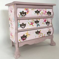 Prachtig barok buikkastje Gerestyled in oud~roze & studio pip Made by toen naar Nu
