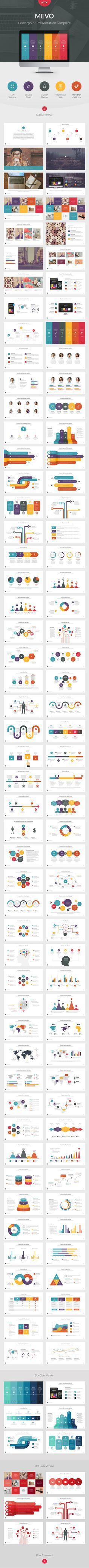 Buy Mevo Powerpoint Presentation Template by vuuuds on GraphicRiver. Mevo Powerpoint Presentation Template for you that you need professional, clean, creative, simple presentation templ. Keynote Presentation, Design Presentation, Powerpoint Presentation Templates, Keynote Template, Portfolio Presentation, Design Sites, Interaktives Design, Slide Design, Layout Design