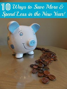 Want to be more prosperous in the new year?  Check out these easy ways to save more and spend less!