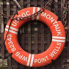 Life Preserver, Montauk, New York. #longisland #orange