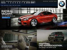 unofficial BMW Homepage Redesign