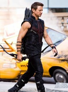 Hawkeye probably my favorite character because of Jeremy Runner!? but he's also a willing person and team player! :)