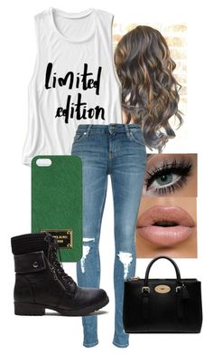 """""""read d please. i need help."""" by queen-hstyles ❤ liked on Polyvore featuring Michael Kors, Mulberry, women's clothing, women's fashion, women, female, woman, misses and juniors"""