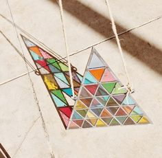 General Store   David Scheid Stained Glass Triangle