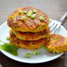 Chickpea And Sweet Potato Patties by dieTTaste