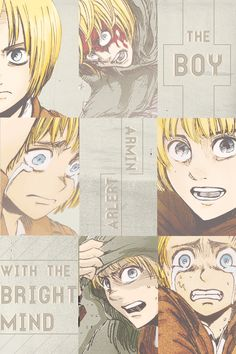Today is November 3rd. And you know what else? ARMIN'S BIRTHDAY ❤️❤️❤️❤️❤️