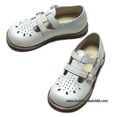 My very, very favorite shoe for toddlers.  It is so classic.  Both of my Girls had these in white and navy when they were toddlers.