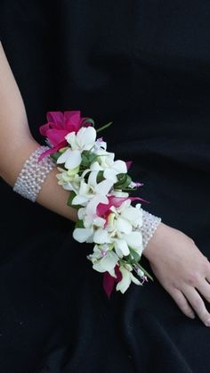 Orchid wrap!, prom flowers, wrist corsage, extravagant orchids 7