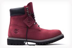 Check out Timberland's Limited Release styles - only around for a short time, so get them while you can. Burgundy Boots, Timberland Boots, Tims Boots, Shoe Boots, Christmas Pictures Outfits, Steel Toe Shoes, Waterproof Winter Boots, Zapatos