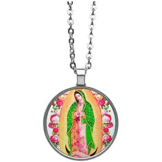 Beautiful Our Lady of Guadalupe Necklace