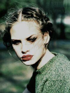 Jenny Knight for Vogue Italia september 1997 by Ellen Von Unwerth.