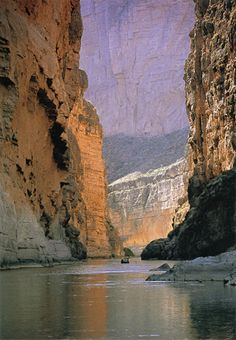 kayak or canoe? // santa elena canyon, big bend national park