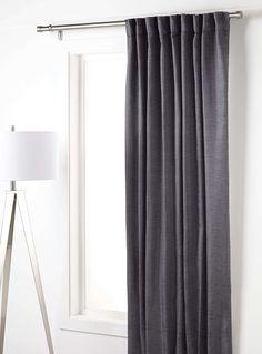 Modern brocade satin curtain 56¨ x 86¨ - Curtains | Simons