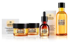 The Body Shop has released a whole lot of goodness, from new skincare innovations to revamped packaging and designs! The Body Shop Oils of Life range is all about seed oils and three special seeds . The Body Shop, Body Shop At Home, Skincare Packaging, Beauty Packaging, Marie Claire, Jimmy Choo, Body Shop Skincare, Shops, Oil Shop