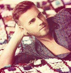 Gary Barlow, we waren vroeger al fan and now.... even more! #beauty #jillz #handsome