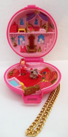 Polly Pocket, I collected these!! Love them!!