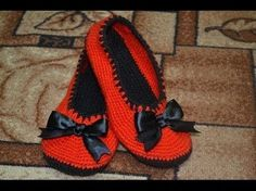 Zapatillas tejidas a crochet paso a paso - GanchilloGanchillo