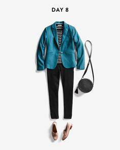 I love that blazer! Color's absolutely stunning