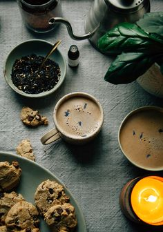the double double earl grey latte (aka the best earl grey latte ever) #vegan