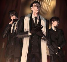 Ereri, Eren E Levi, Eren X Mikasa, Attack On Titan Comic, Attack On Titan Fanart, Hot Anime Boy, Cute Anime Guys, Yandere Anime, Manga Anime