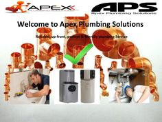 ApexPlumbingSolutions offers high quality, hot water plumbing services in Sydney at very low and economical prices. We have the most professional plumbers in Sydney who also offer emergency plumbing and blocked drain cleaning services in the city. Water Plumbing, Plumbing Emergency, Cleaning Services, Sydney, Infinity, City, Housekeeping, Maid Services, Infinite