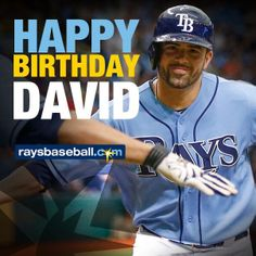 Tampa Bay Rays - Happy Birthday David Dejesus - 12/20/2013