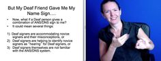 This lecture video was originally created for a course within the Masters in Sign Language Education graduate program for ASL teachers at Gallaudet Universit. Learn Sign Language, Foreign Language, Asl Videos, Asl Signs, Deaf Culture, American Sign Language, Teacher Tools, Business Signs, Sign I