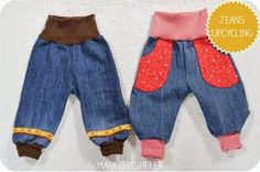 Jeans Upcycling by Mara Zeitspieler