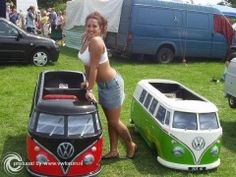 Ticked out VW kids toys