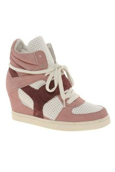 Coveting sneakers with a hidden wedge. The Isabel Marant ones are a little too pricey
