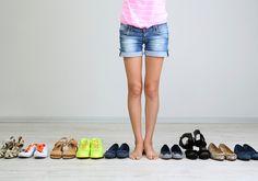 Como limpar cada tipo de sapato