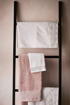 Update your bathroom with this white towel from Julien Macdonald, made from pure cotton with a silver embroidered lace trim. Home Decor Catalogs, T Home, Grey Trim, White Towels, Pink Houses, Guest Towels, Cotton Towels, Guest Bath, Embroidered Lace